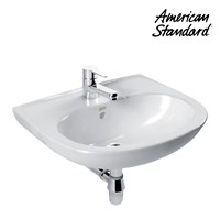 Wastafel American Standard New Codie Round Wall Hung Lavatory  1