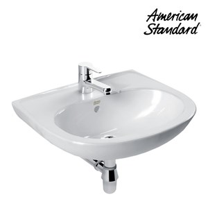 Wastafel American Standard New Codie Round Wall Hung Lavatory