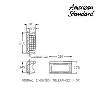 Jual Aksesoris American Standard Soap Holder 15 x 30 cm 2