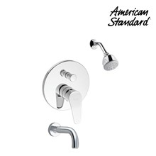 Shower American Standard Cygnet In Wall Bath & Shower with Shower & spout