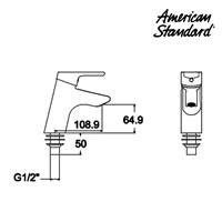 Jual Kran American Standard Refit Active Single Lever Lavatory Mono 2