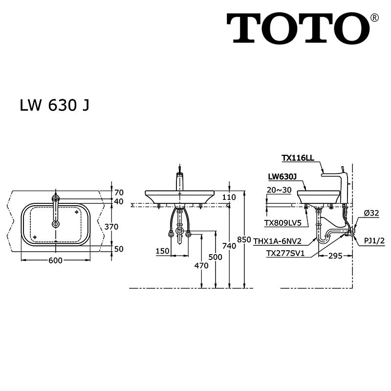 Image result for TOTO LW 630 J