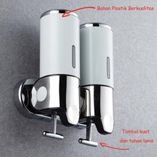 Castelli Dispenser Sabun Berkualitas Warna Putih