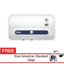 Water Heater Ferroli QQ Series 15 Liter Free Kran Air Saga