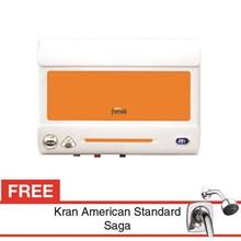 Water heater Ferroli Duetto Dema Orange 30 Liter Free Kran air Saga