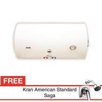 Water Heater Ferroli SEH Horizontal 50 Liter Free Kran air saga