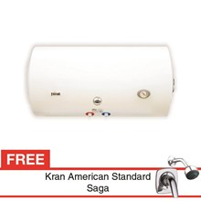 Water Heater Ferroli SEV Horizontal 100 Liter Free Kran air Saga