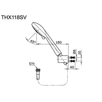 Jual Shower Toto THX 118 SV 2