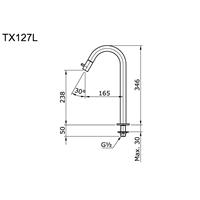 Jual Kran Air Toto TX 127 L 2