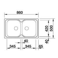 Jual Kitchen Sink BlancoTipo 8  2