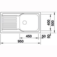 Jual Kitchen Sink Blanco Tipo XL 6 S  2