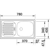 Jual Kitchen Sink Blanco Flex Mini 2