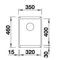 Jual Kitchen Sink Blanco Subline 320 -U 2