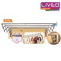 Distributor Gantungan baju Liveo LV 304 - 1 meter 3