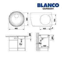 Distributor Blanco Bak Cuci Piring tipe Rondosol 3
