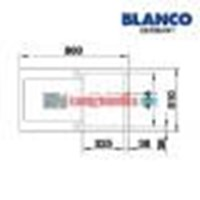 Jual Blanco Bak Cuci Piring tipo 45 S 2