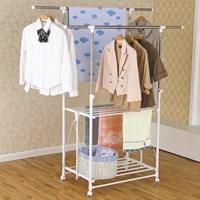 Distributor Gantungan baju lantai double pole Liveo LV 728  3
