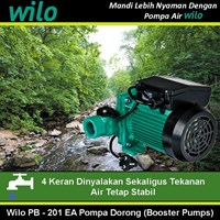 Wilo Pompa air tipe PB - 201 EA Pompa dorong 1