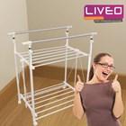 Bundle tangga lipat dan gantungan baju Liveo  2