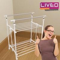 Jual Bundle tangga lipat dan gantungan baju Liveo  2