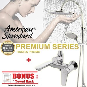 American Standard Keran Shower Milano Free Towel Rack