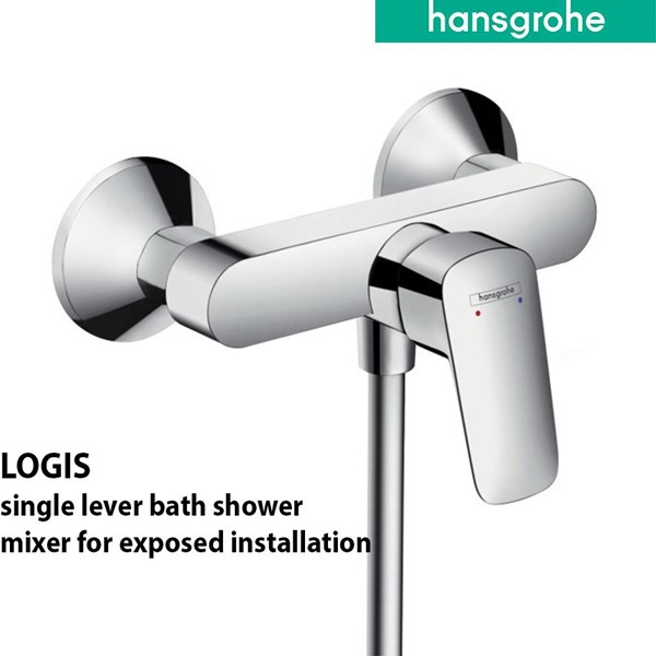 Hansgrohe Hand Shower & Bath Mixer Tap Set