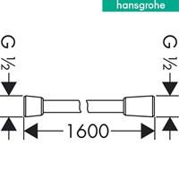Jual hansgrohe isiflex Shower Hose 2