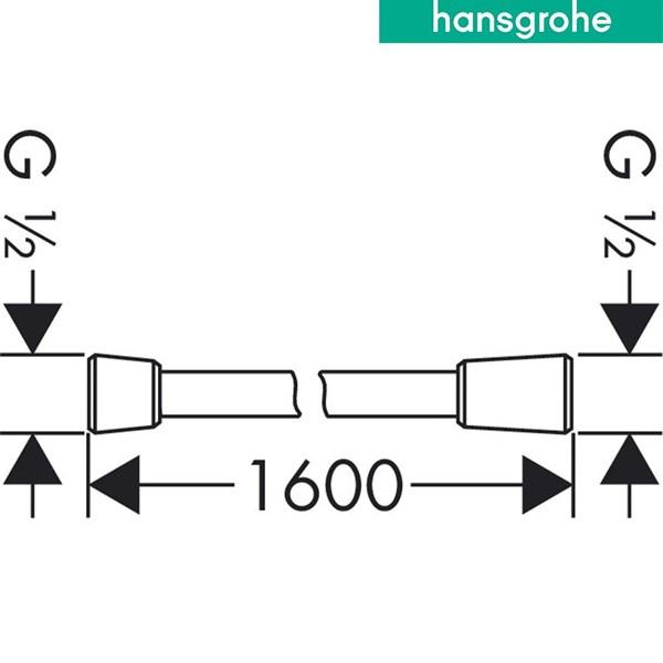 hansgrohe isiflex Shower Hose