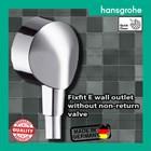 Hansgrohe fixfit E shower Wall outlet 1