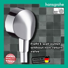Hansgrohe fixfit E shower Wall outlet