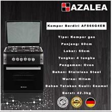 Azalea AFS66G4EB Kompor gas cooker Free Standing