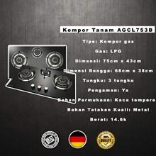 Azalea AGCL753B Kompor Tanam Premium