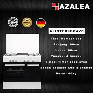 Azalea ALISTER9BG4VC Kompor Free Standing Premium