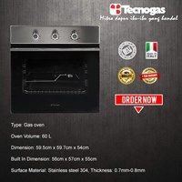 Tecnogas FN3K66G3x Oven Premium  1