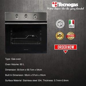 Tecnogas FN3K66G3x Oven Premium