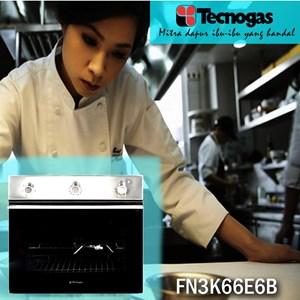 Tecnogas FN3K66EB Oven Luxury