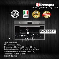 Tecnogas FN2K96G5X Oven