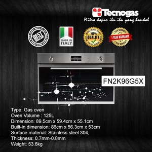 Tecnogas FN2K96G5X Oven