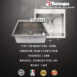 Tecnogas TSQ561V Kitchen Sink