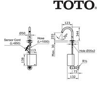 Sell Toto TN789V900 Shower 2