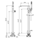 Toto TX494SM Shower 2