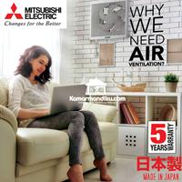 Dari Mitsubishi Kipas Angin ventilasi udara Dinding  EX20RHKC5T  1
