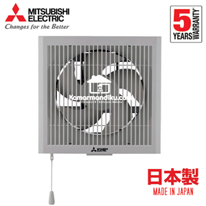 From Mitsubishi Exhaust Fan Dinding EX20RHKC5T Wall Mounted in/out 4