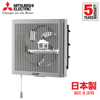 Dari Mitsubishi Exhaust Fan Dinding 12 inch EX20RHKC5T Wall Mounted in/out 2