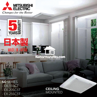 Distributor Mitsubishi Ceiling Exhaust Fan EX20SC5T  8 inch asli dari Japan 3