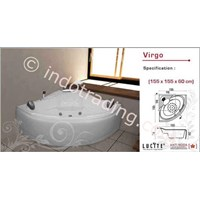 Bathtub Meridian Acrylic Crystal Virgo