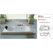 Bathtub Milano Meridian