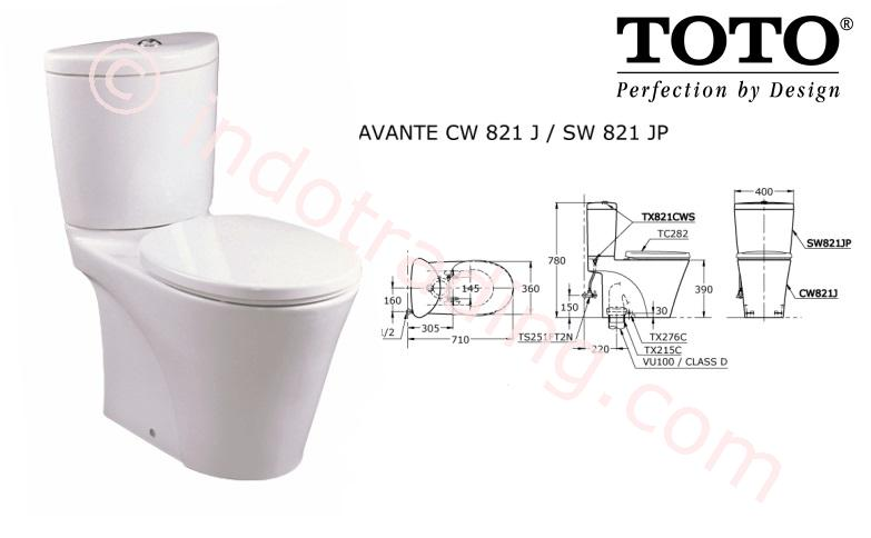 Sell Toto Toilet Cw821pj Sw821jp From Indonesia By Kamar