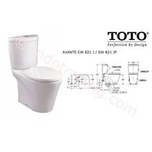 Toto Closet Cw821pj Sw821jp