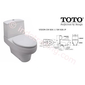 Sell Toto Toilet Cw 826j Sw826jp From Indonesia By Kamar